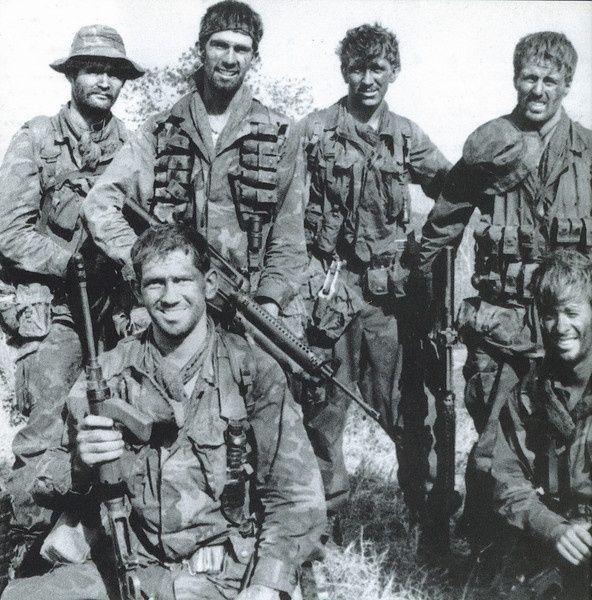 Australian military men