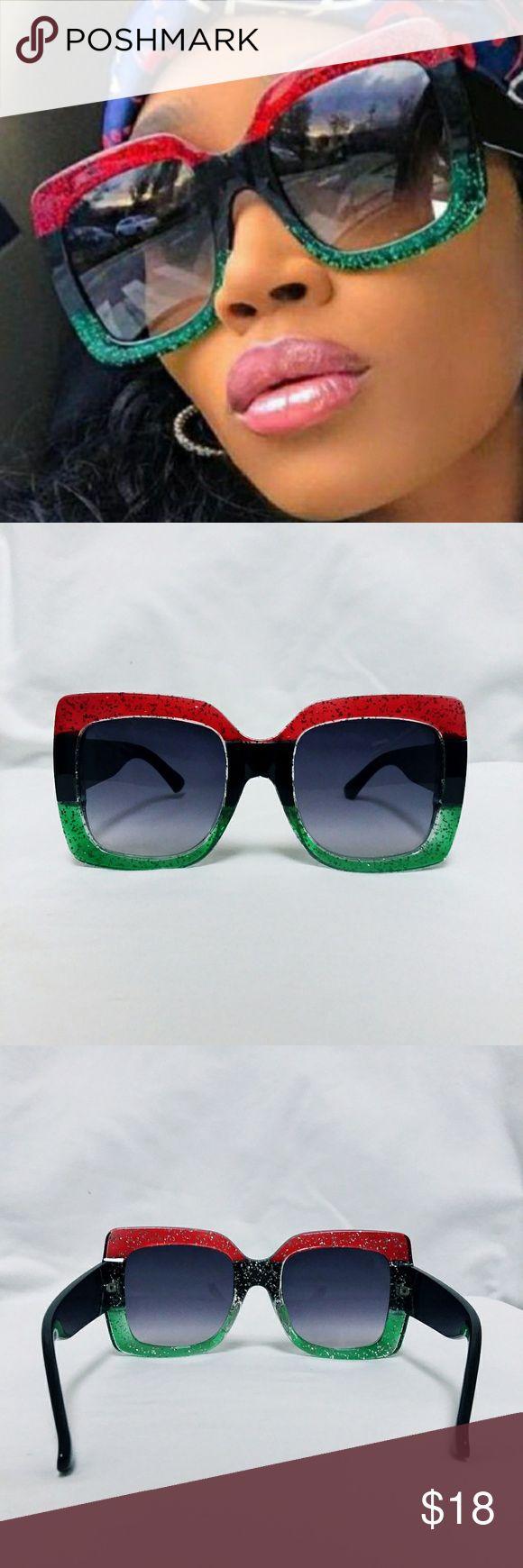Restocked! Oversized Retro Fashion Sunglasses Back…