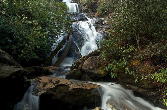 holcomb creek falls by ash™, via Flickr