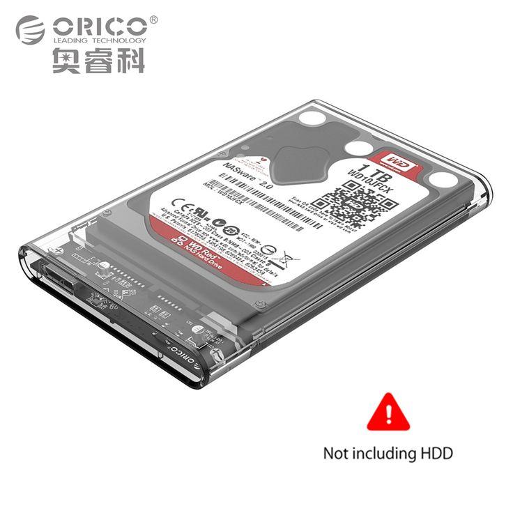 ORICO 2 TB Mobile Hdd Case USB 3.0 à SATA HDD Disque Dur Boîtier Externe Cas sans vis Pour Windows/Mac