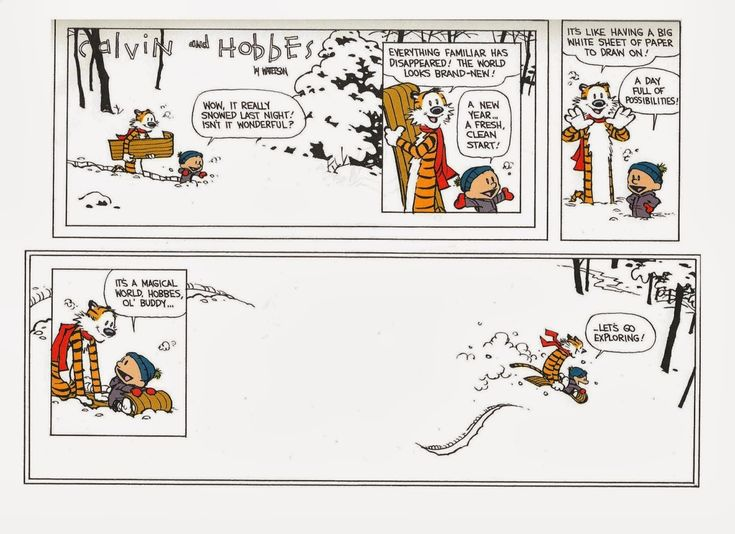 Calvin and Hobbes, Let's Go Exploring!