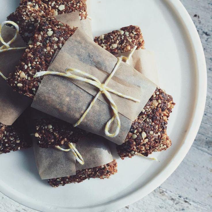 Crunchy banana buckwheat bars — Low Tox Life