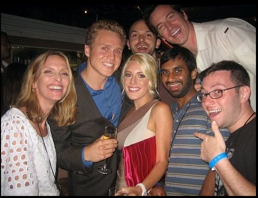 """Old Photos Of Aziz Ansari With """"The Hills"""" Cast Are Amazing"""
