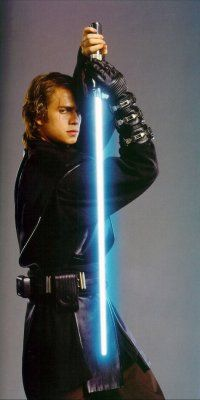 Hayden Christensen in Episode III he was such a cry baby in these movies. LoL