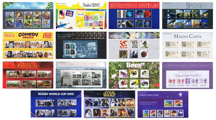 2015 Year Set (15 Packs) Commemorative Presentation Packs - Year Sets - 2015 Year Set (15 Packs) - Presentation Packs