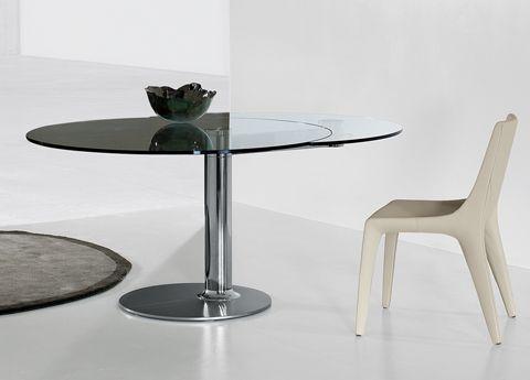 Bonaldo Plinto Round Extending Dining Table- NOW  DISCONTINUED