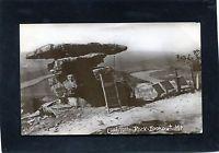 Lookout Mountain,TN-UMBRELLA ROCK w Rustic Ladder Hamilton Co-1908 M.Cooke RPPC
