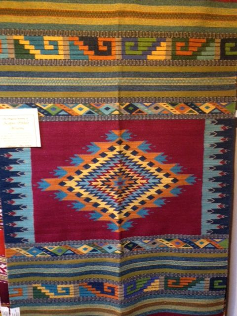 Another quality weaving from the Zapotec people.