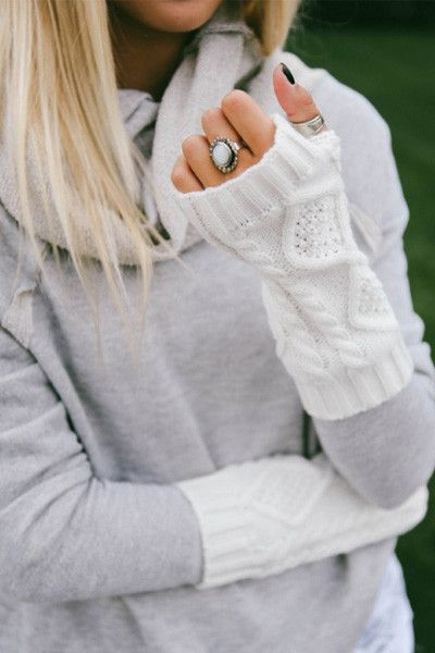 Lace and Lemons Arm Warmers