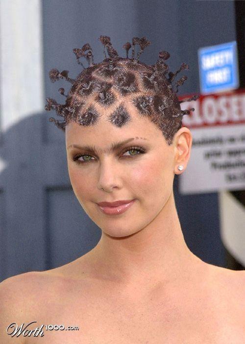 Verrückte Frauen Frisur Frisuren Pinterest