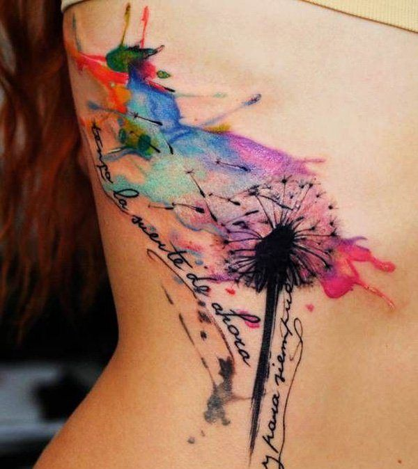 Tattoo seitlich am Bauch stechen lassen                                                                                                                                                      Mehr