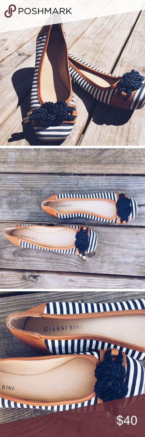 Gianni Bini Flats Nautical Gianni Bini flats. $35.00 :: Final Price. Gianni Bini Shoes Flats & Loafers