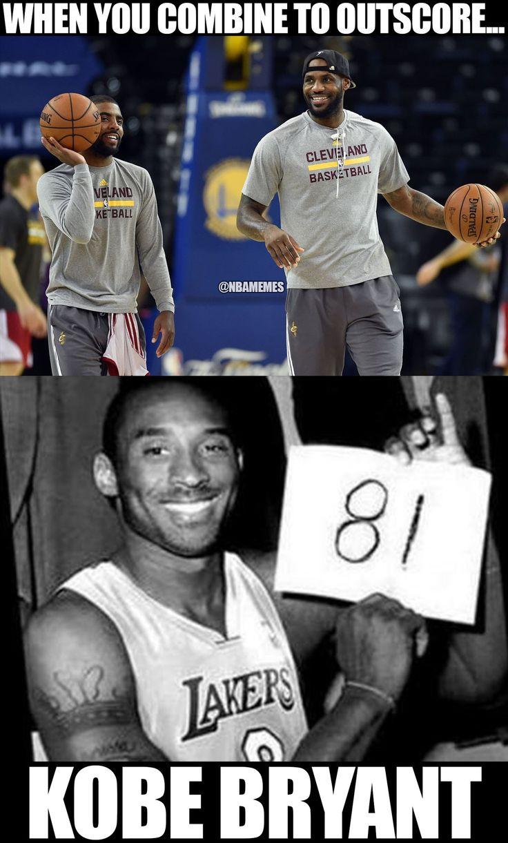 RT @NBAMemes: Kyrie Irving & LeBron James (82) > Kobe Bryant (81). -Cavs fans - http://nbafunnymeme.com/nba-funny-memes/rt-nbamemes-kyrie-irving-lebron-james-82-kobe-bryant-81-cavs-fans