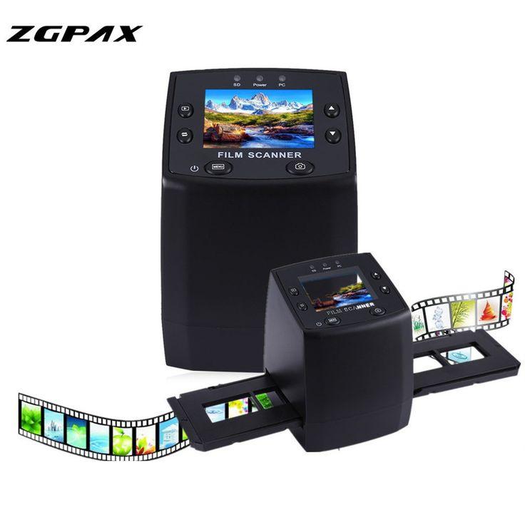 Professional EC717 5MP 35mm Negative Film Slide Viewer Scanner USB Digital Color Photo Copier & 24 Hours EU US Fast Shipping