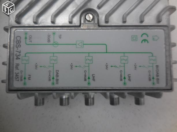 Amplificateur de signal UHF-FM-Radios numériques