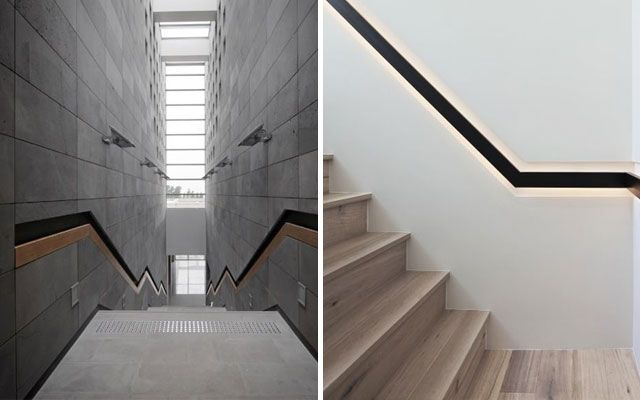 Ideas para decorar con barandillas y pasamanos integrados - Modelos de escaleras interiores ...