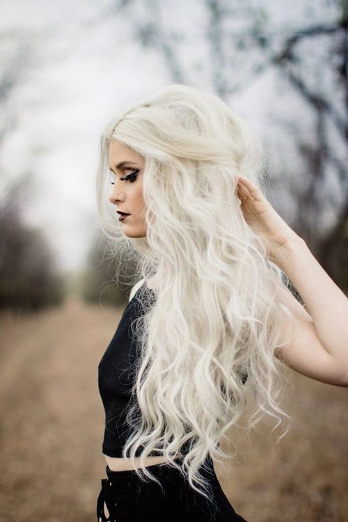 17 Images About Black Amp Blonde Hair On Pinterest White