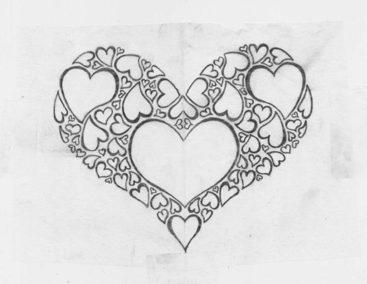 Cool Drawings | Cool Sketches Of Hearts - Top General Review - KReview Top Reviews | Art I Like ...
