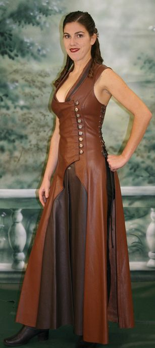 Ravenswood Saberist Leather Dress