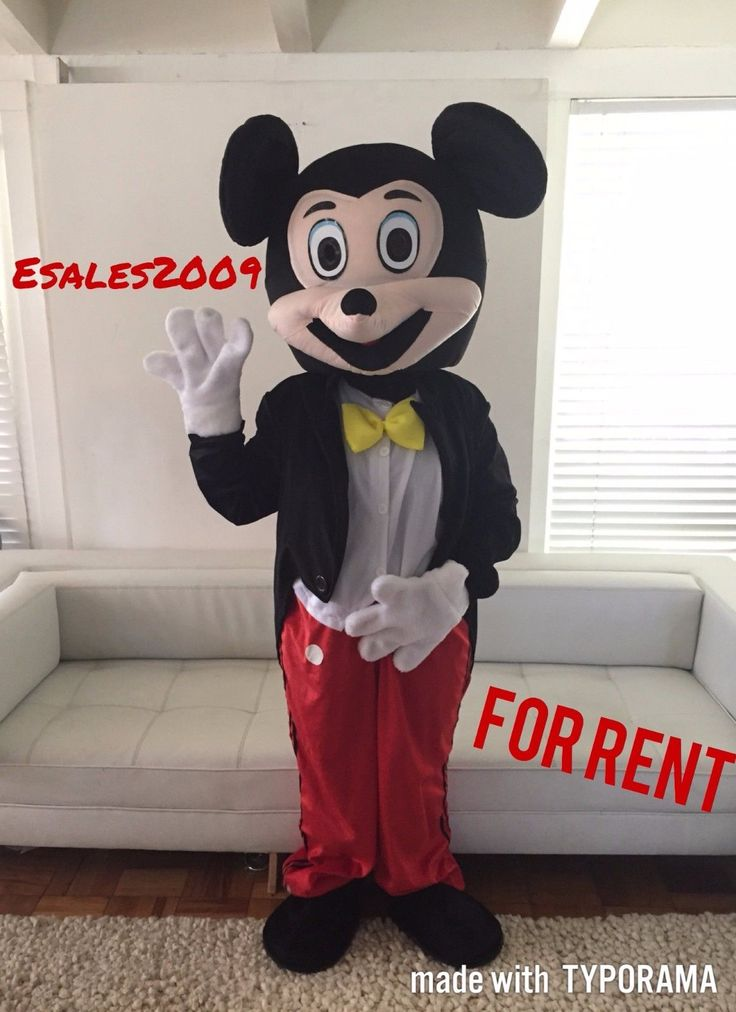 Mickey Mouse Costume Womens