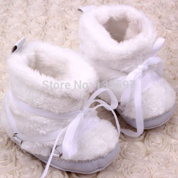 >> Click to Buy << Newest Warm Unisex 2014 Winter Baby Boots White Snow Boots Cotton Fabric Baby Shoes Nonslip Soft Bebe First Walkers #Affiliate