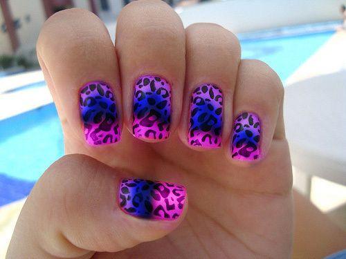 Nail art.: Cheetah, Leopard Print, Nailart, Makeup, Nail Designs, Nails, Beauty, Nail Art