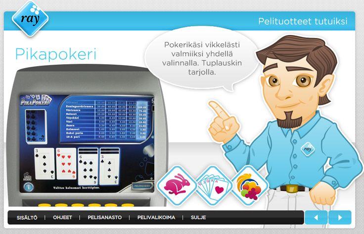 RAY toteutti yhteistyössä Prewisen kanssa verkossa opiskeltavat Pelituotteet tutuiksi -tuotekoulun ja -tietovisan. Uudella ratkaisulla tuetaan sekä uusien henkilöiden perehtymistä että nykyisten henkilöiden jatkoperehtymistä ja asioiden kertaamista. Kohderyhmänä on oma henkilöstö sekä kumppaniverkosto. Lue lisää http://urly.fi/jaT