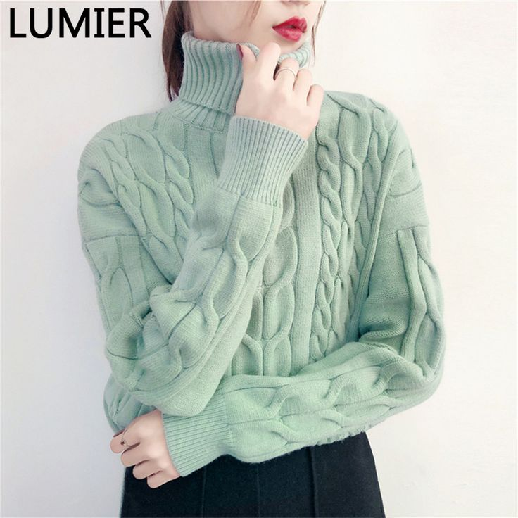 powerful tips to help you Original Price US $48.00 Discount 3 Autumn Winter Sweater 2017 European Casual Pullovers Fashion turtleneck Sweater Women Twisted Thickening Knit Tops High Quality better #pullovers_sweaters