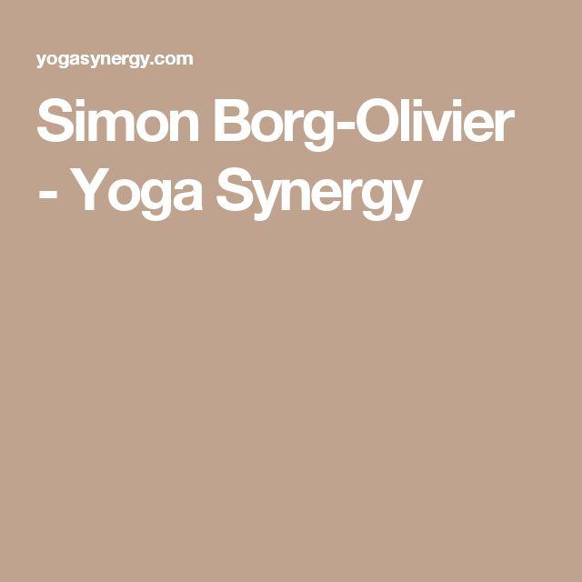 Simon Borg-Olivier - Yoga Synergy