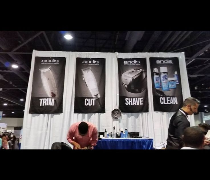 Andis Booth at Atlanta Hair Show 2016 #ABBS #Atlanta #barber #supplies #Andis #clippers #trimmers