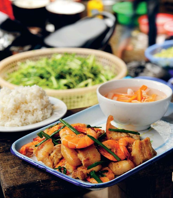 River prawns with pork belly by Tracey Lister and Andreas Pohl from Vietnamese Street Food | Cooked