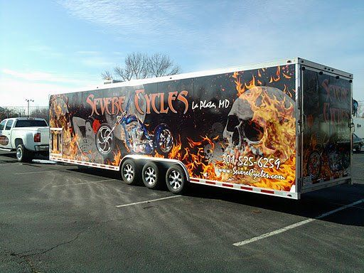 Empire Graphics Vinyl Wrap Custom Trailer Vinyl Wrap