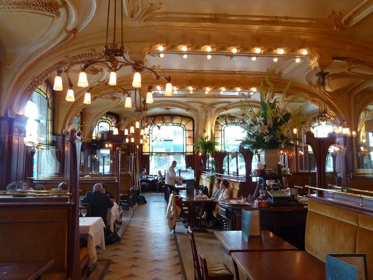 Brasserie excelsior flo interior coffee house cafe
