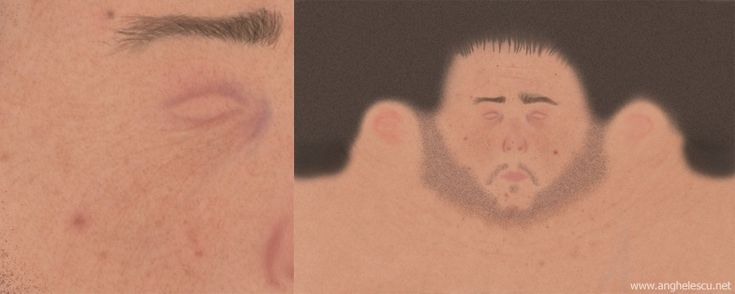 Russell Crowe texture
