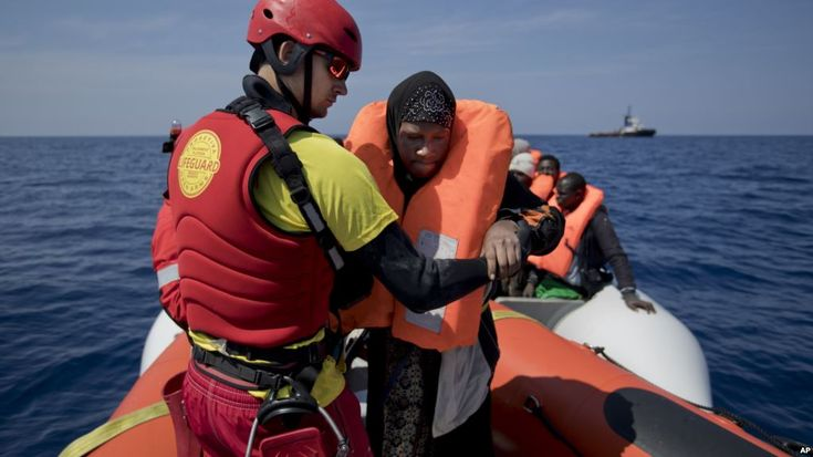 1,000 Migrants Rescued Off Libyan Coast; Two Dead
