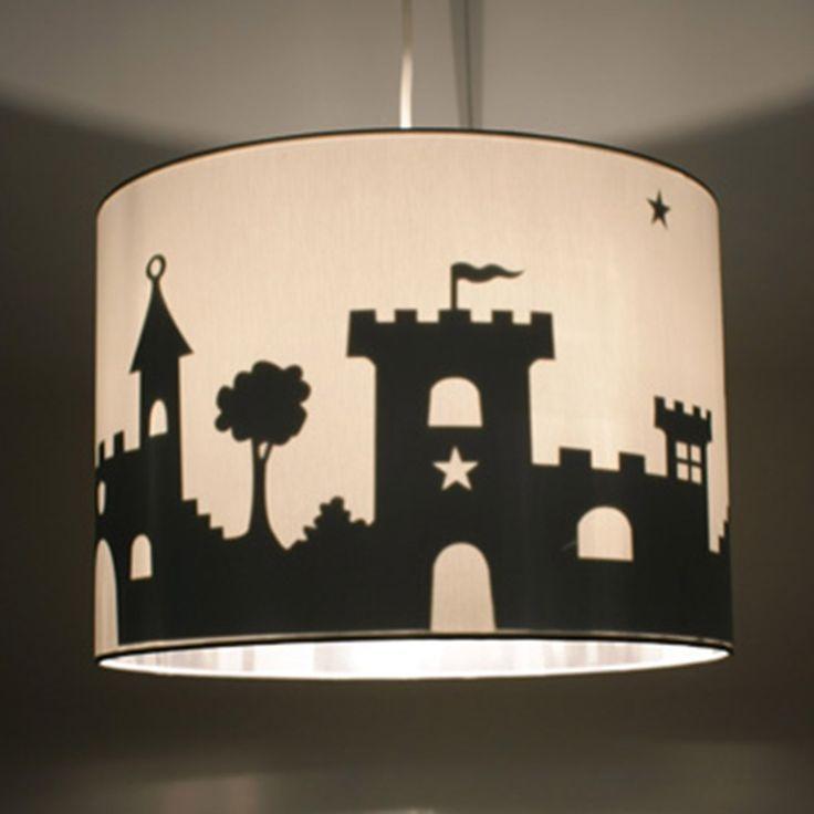 Panoramalampe Burg bei kinder räume