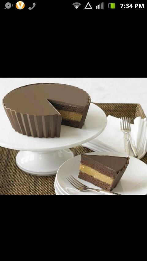 Reese cake- AWESOME haha