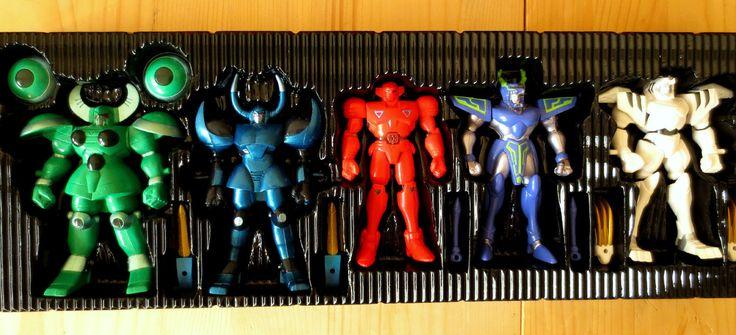 Super Robot Red Baron Metal Fight Anime Set Bandai 94 Shogun Warriors Tokusatsu | eBay