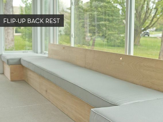 make it custom diy window bench with storage window