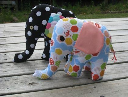 Handmade Elephant Soft Toy