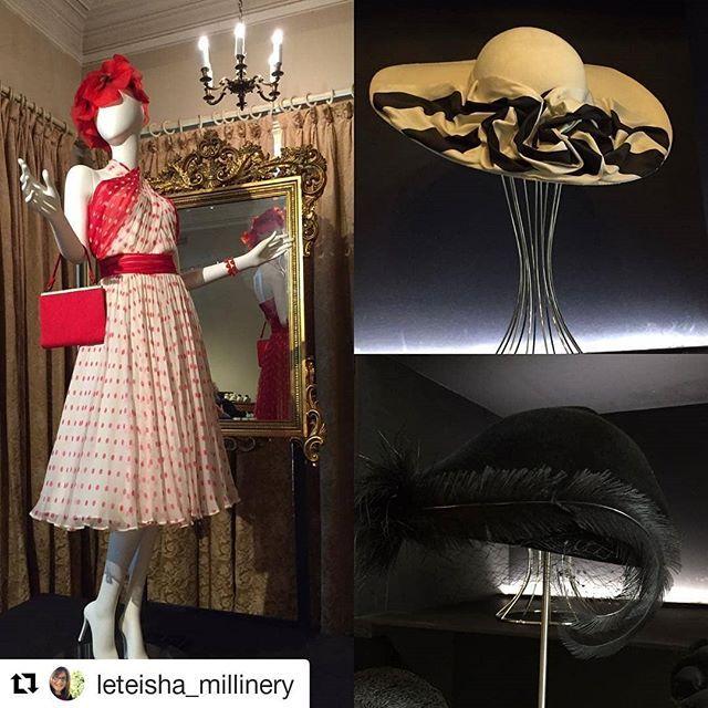 #Repost @leteisha_millinery (@get_repost)  Dressmaker costume exhibition at Rippon Lea house #dressmaker#movie#costumes#hats #vintage#ripponlea#melbourne