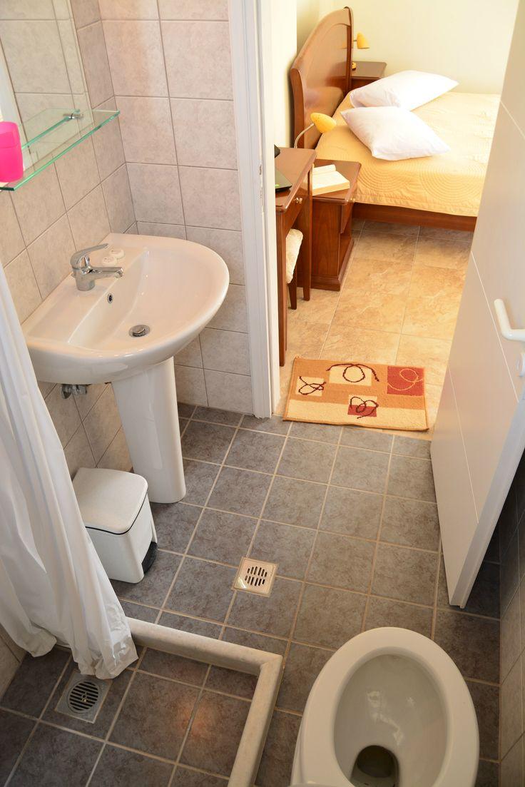 Bathroom & shower.