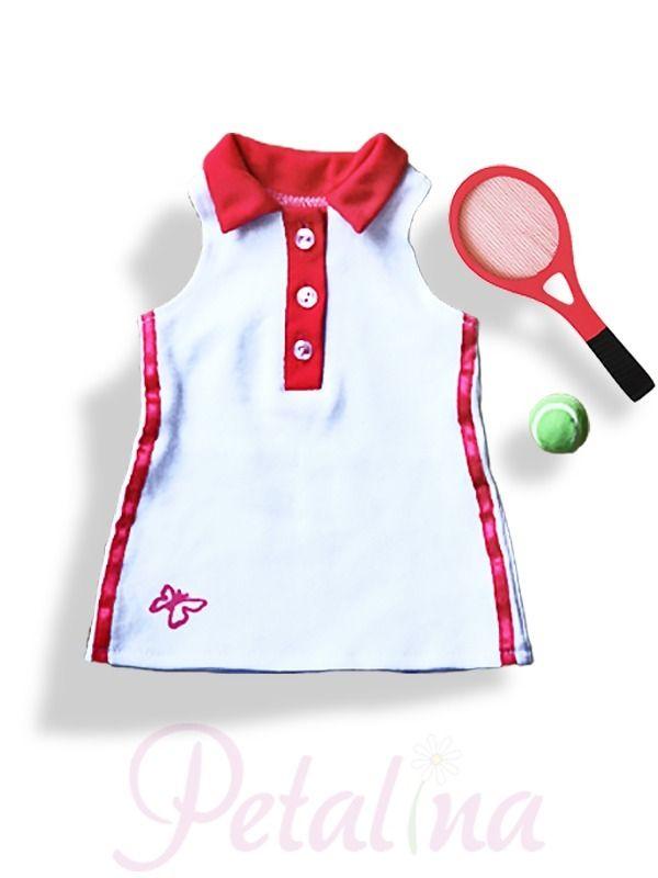 Dolls Clothes > WeGirls Tennis Set - Petalina