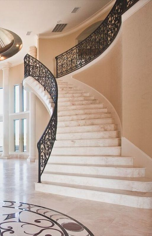 The Marble Stairs Are Jaw Dropping!