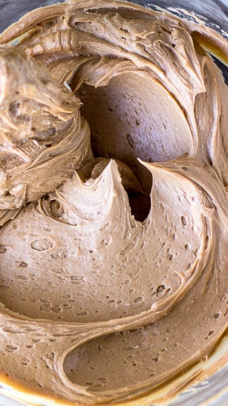 Milk Chocolate Buttercream Frosting ~ Creamy... The best milk chocolate buttercream frosting recipe you will even need!