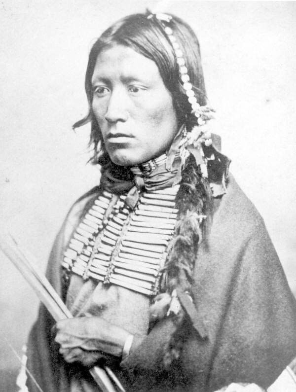 Kiowa Apache Indian~ ~~It is better to have less thunder ...
