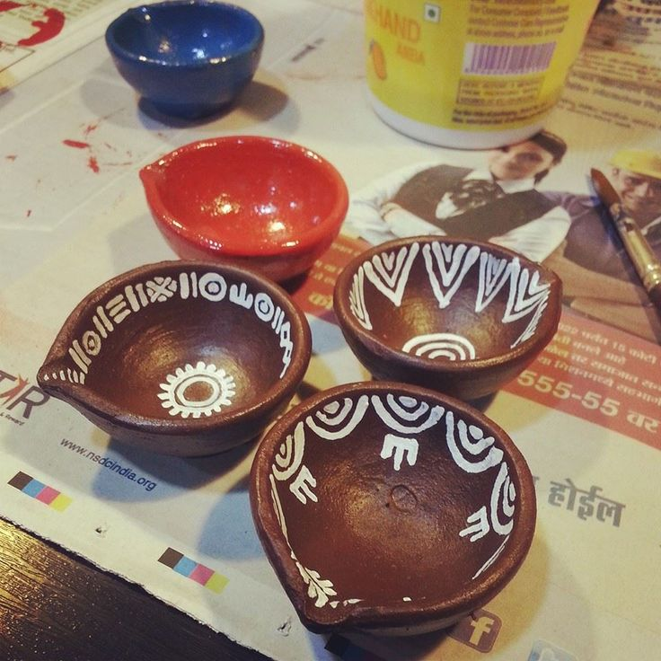 Diya Painting Diya Painting Pinterest Painting Diwali And Extraordinary Designs For Pots Decoration