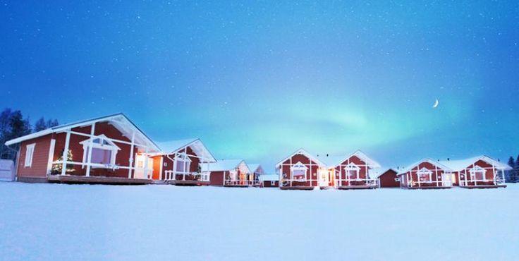El hotel familiar Claus Holiday Village, a pocos metros de la casa del verdadero Papá Noel