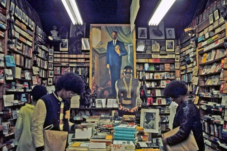 Harlem, New York Bookstore [1978] : OldSchoolCool