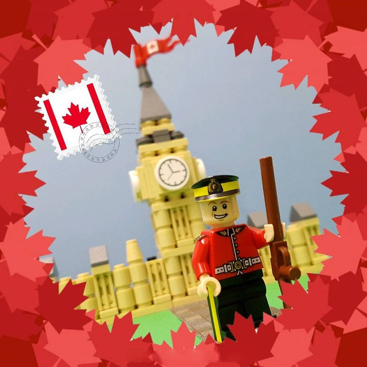"It's #Canada150 weekend. My special legocop is here to say ""Happy Canada Day!"" to everyone.  🇨🇦 #CanadaDay #LEGO"